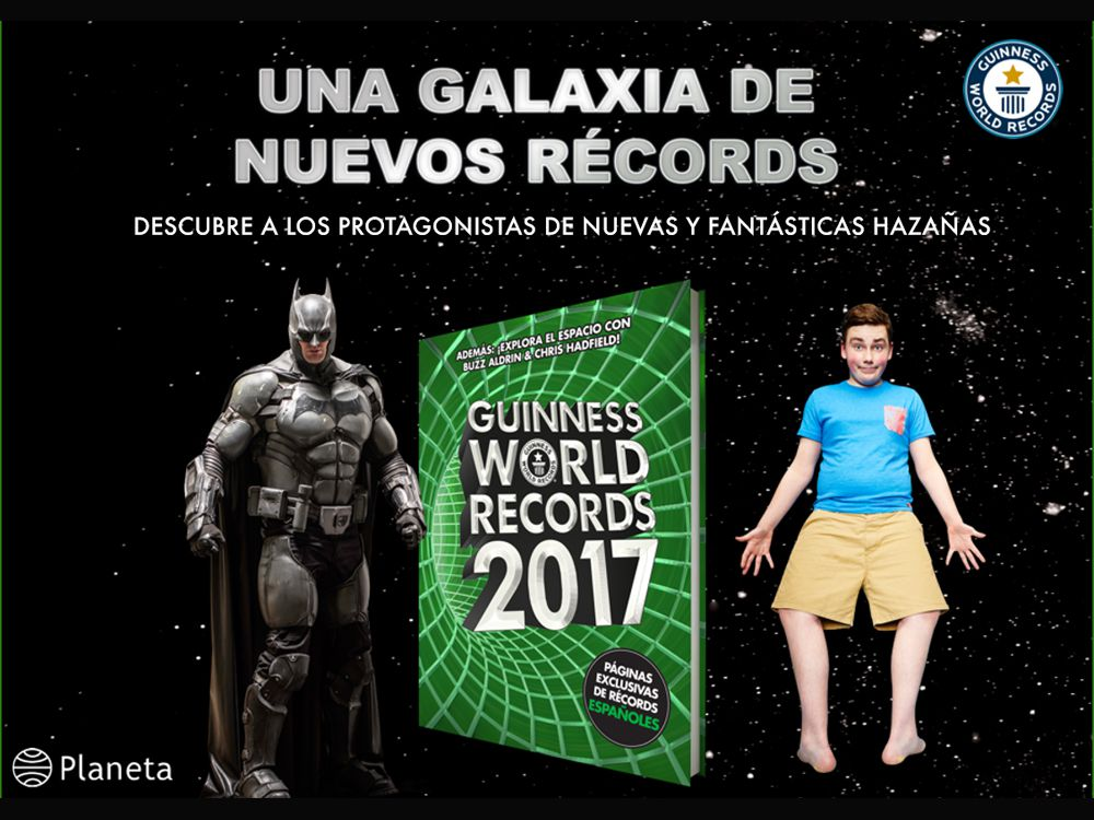 Libro: Guinness World Records 2017
