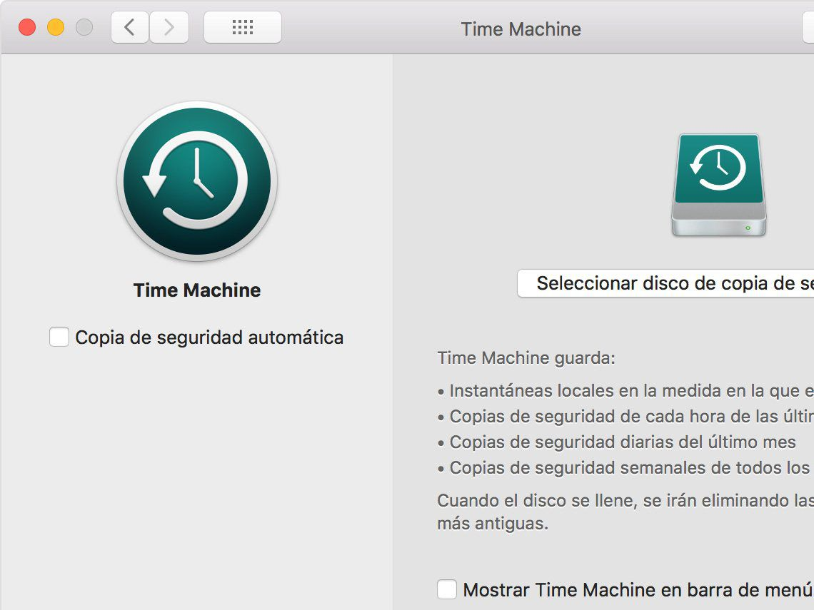 Cómo usar Time Machine