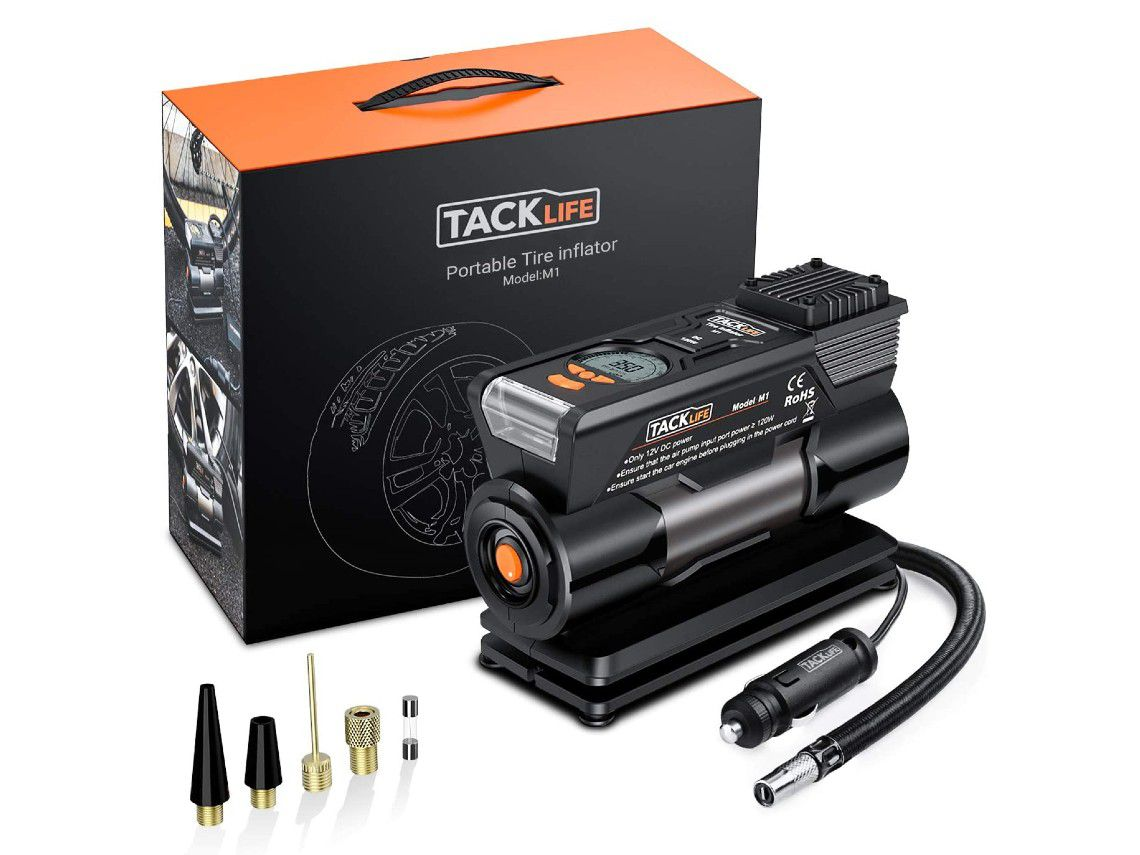 Compresor de aire Tacklife M1.