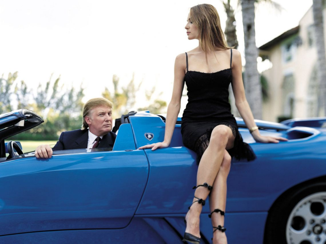Donald Trump coches