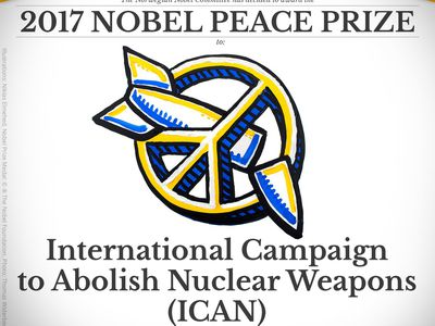 ICAN Nobel Peace Prize 2017