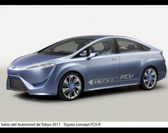 Toyota FCV-R, Fuel Cell Vehicle