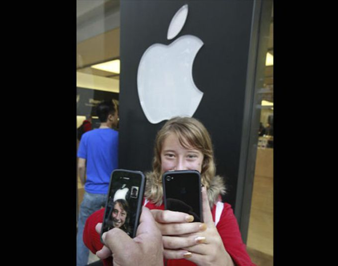 Face Time del nuevo iPhone 4
