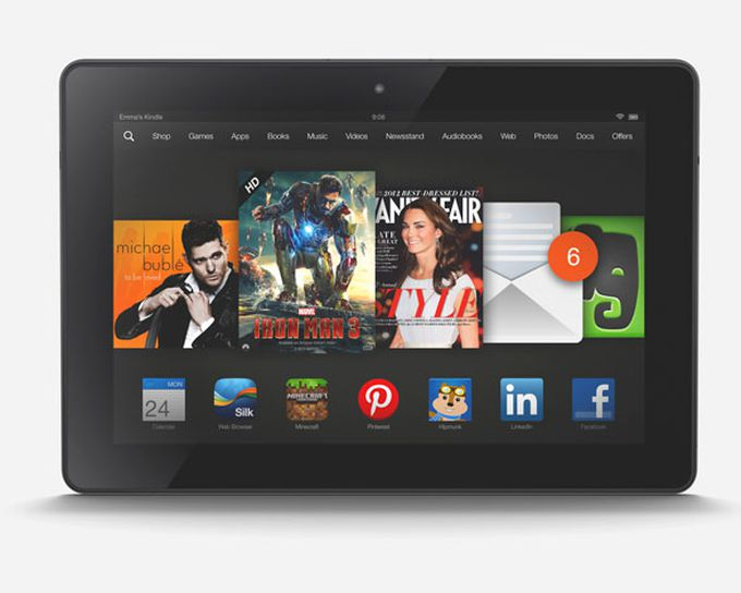 Tablet Kindle Fire HDX