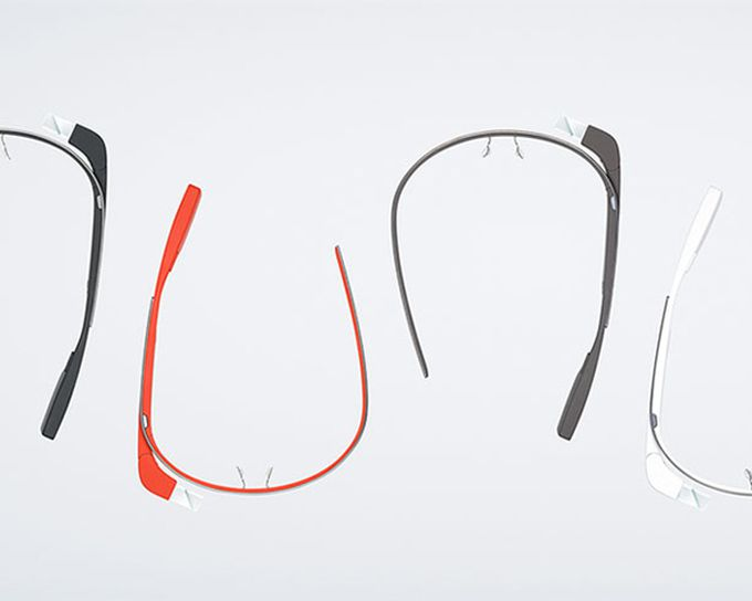 Google Glass: monturas de colores