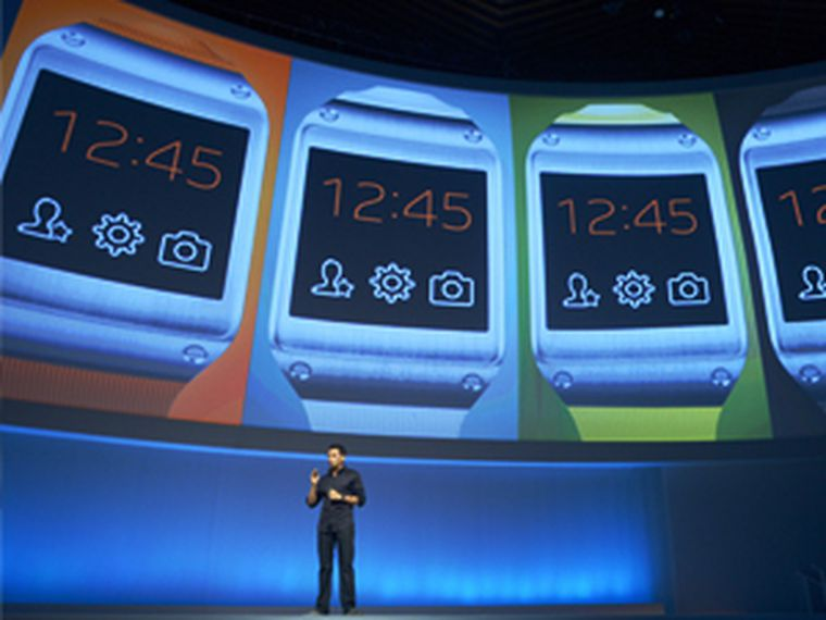 galaxy gear, reloj inteligente