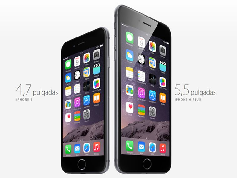 Apple presenta los nuevos iphone 6 y iphone 6 plus for Moviles modernos