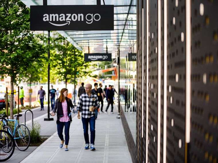 Amazon Go First store