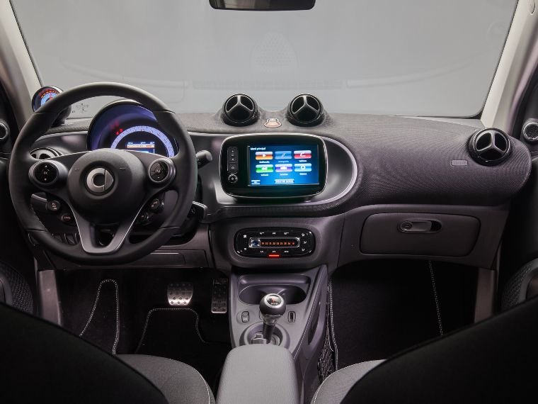 Interior del Smart EQ ForTwo Ushuaïa Limited Edition