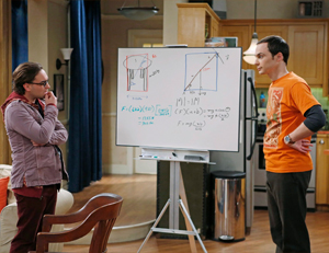 The Big Bang Theory atrae a científicos y trekkies