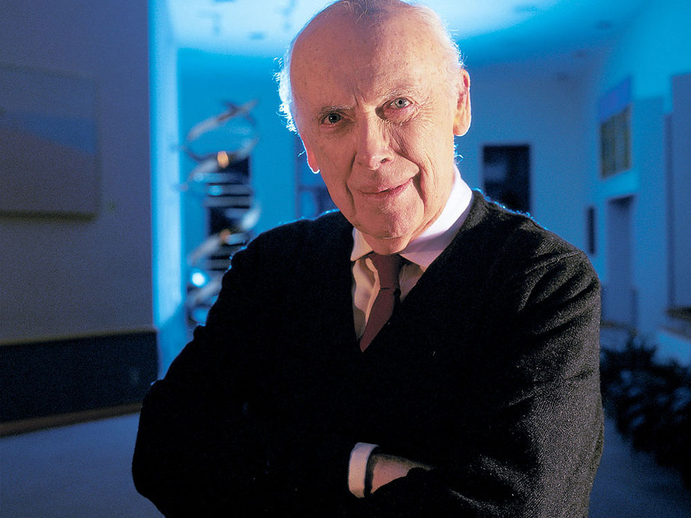 James Watson, el polémico co-descubridor de la doble hélice del ADN