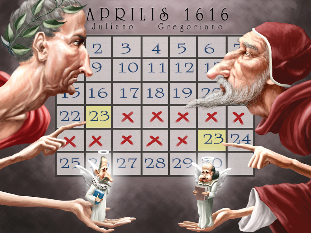 Calendario juliano y gregoriano.