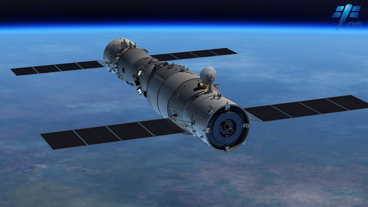 china space station - 986×555