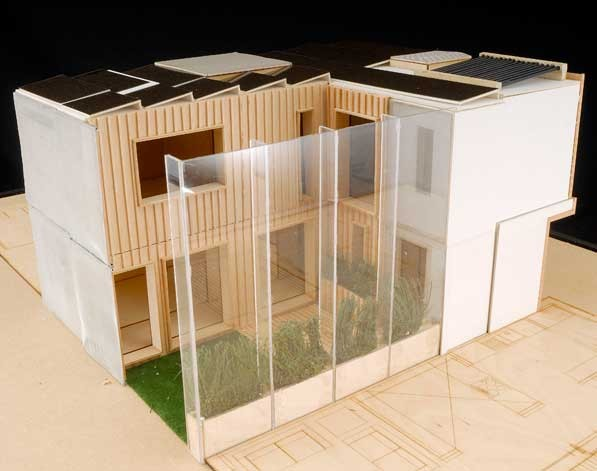 Solar Decathlon: Nottingham house
