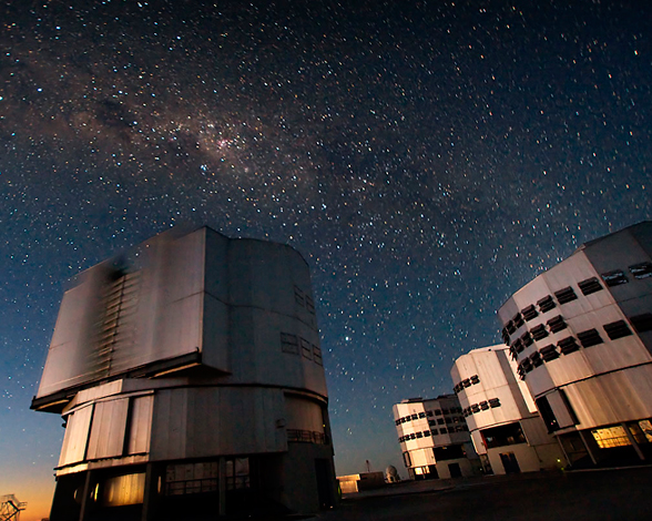 El Very Large Telescope (VLT)