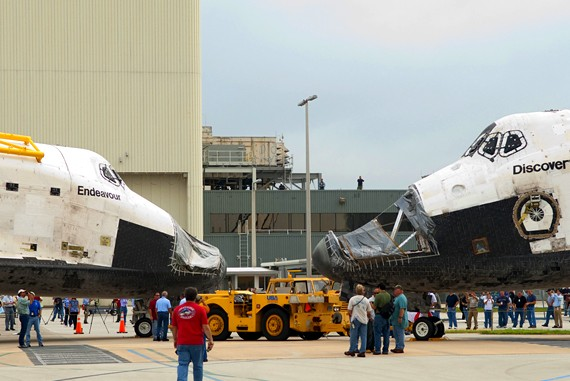 Discovery frente a Endeavour