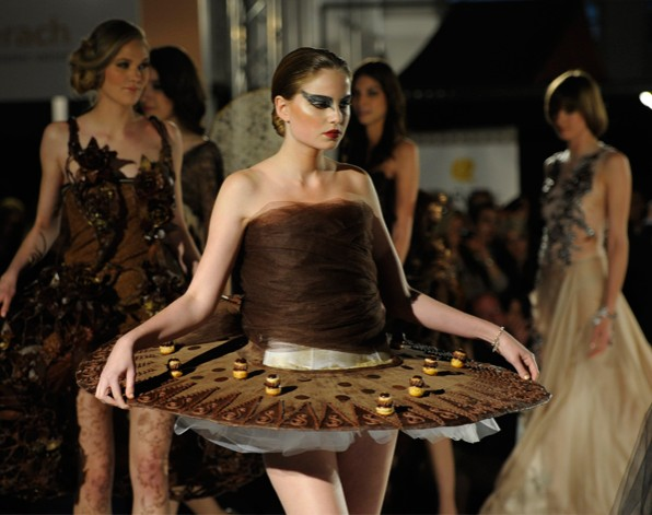 Vestidos de chocolate