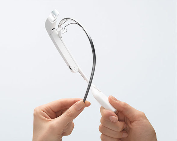Google Glass: ligeras y flexibles