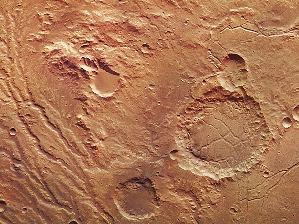 mars surface features - 1000×699