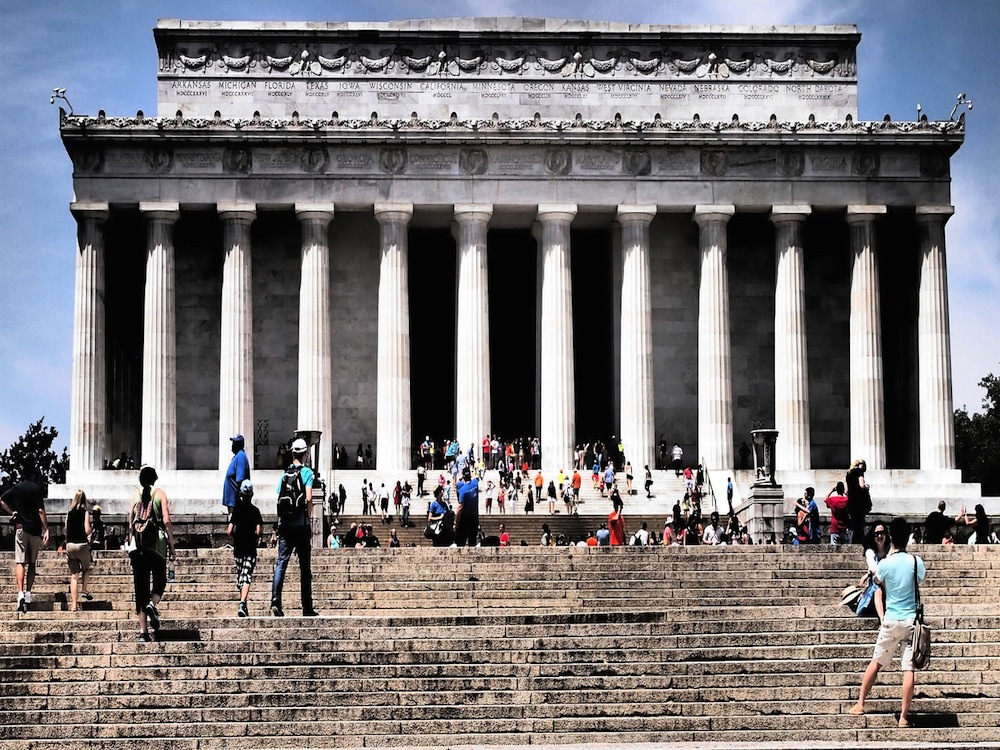 5. Lincoln Memorial (Washington, EE. UU.): 6 millones de visitantes