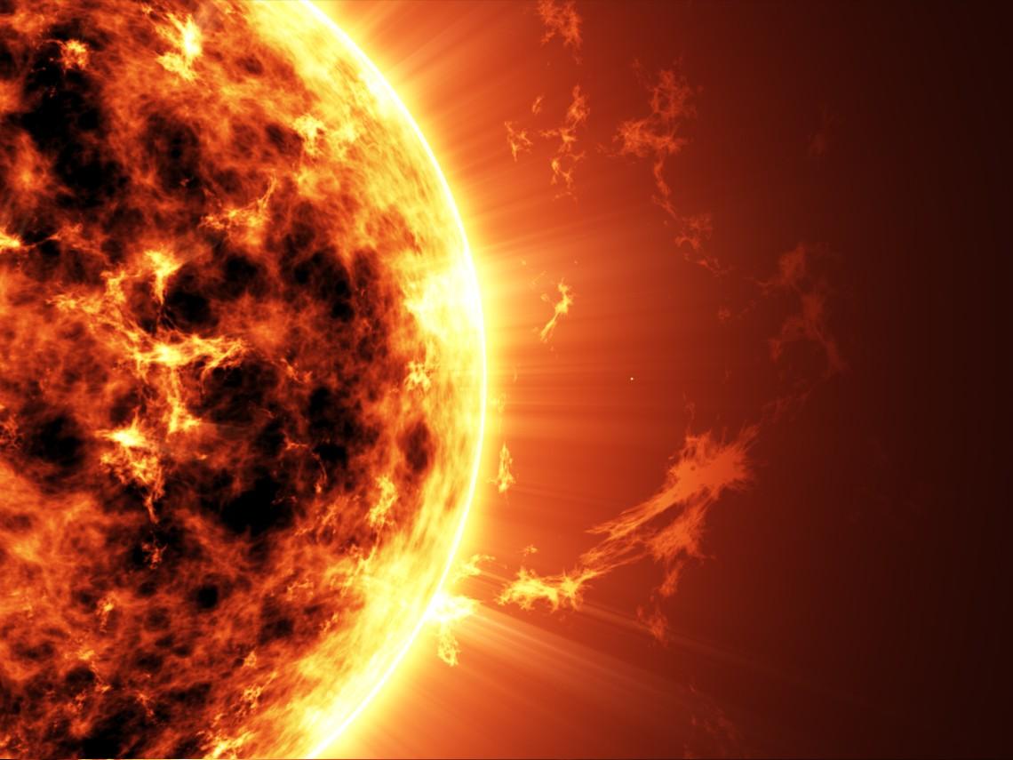 Guapo muchacho amenaza con apagar el Sol
